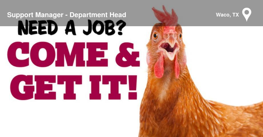 Job - Support Manager - Department Head - 26988221 | CareerArc